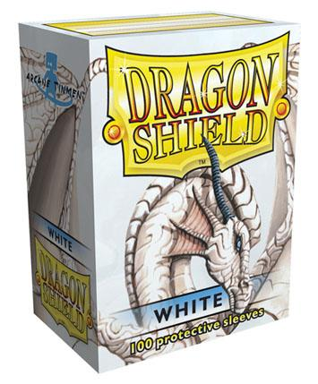 Dragon Shields: Classic White Card Sleeves (100)