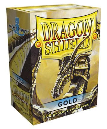 Dragon Shields: Classic Gold Card Sleeves (100)