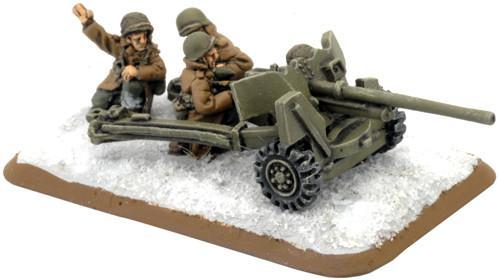 Flames of War: M1 57mm gun (winter)