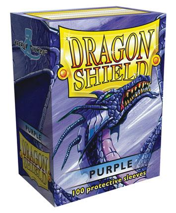 Dragon Shields: Classic Purple Card Sleeves (100)