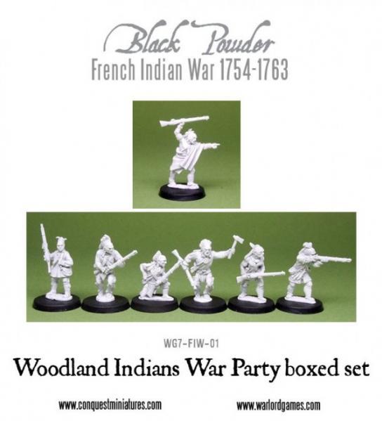 Black Powder (French-Indian War): Woodland Indians War Party