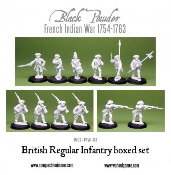 Black Powder (French-Indian War): British Regular Infantry