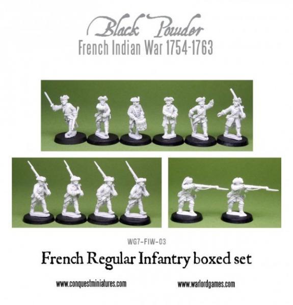Black Powder (French-Indian War): French Regular Infantry