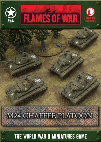 (USA) M24 Chaffee Platoon