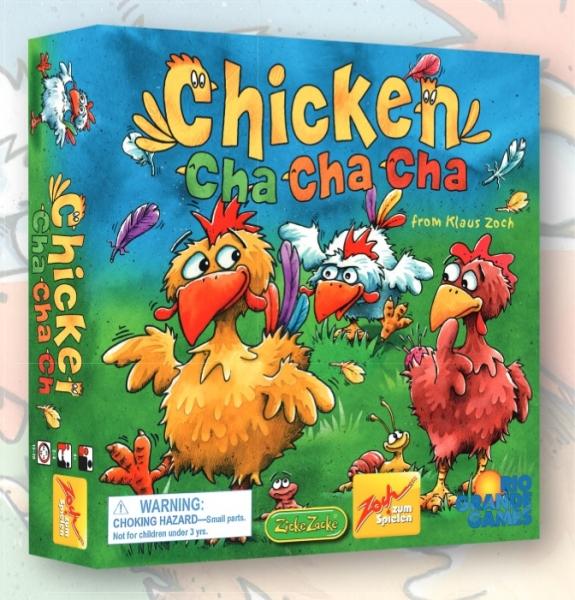 Rio Grande Games: Chicken Cha Cha Cha