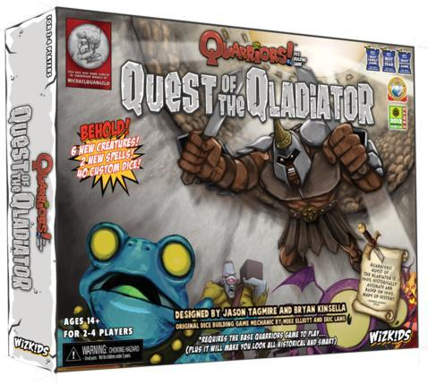 Quarriors! Expansion: Quest of the Qladiator