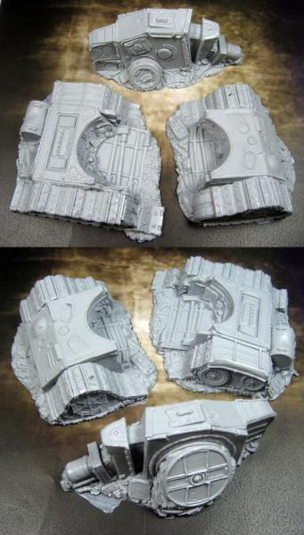Terrain: (Scrap Yard) Destroyed Tank