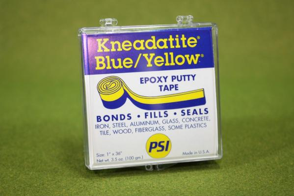 Green Stuff Tape (Kneadatite Blue / Yellow Epoxy Putty)