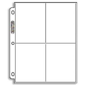 Ultra Pro: 4-Pocket Pro Binder (White)