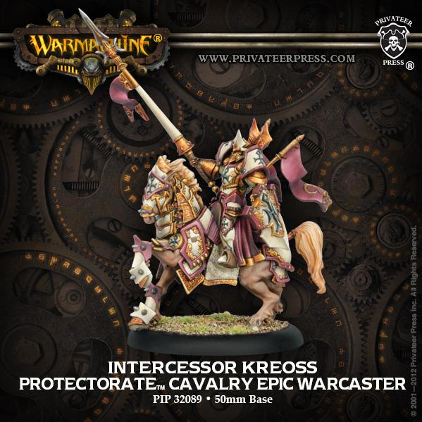 Warmachine: (The Protectorate Of Menoth) Intercessor Kreoss, Epic Cavalry Warcaster