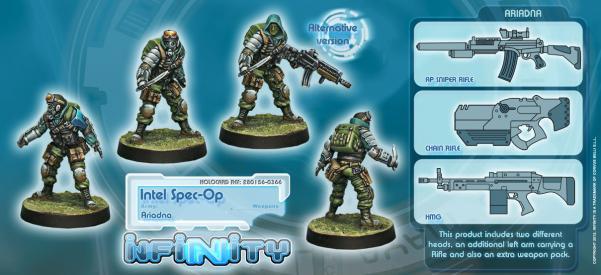 Infinity (#366) Ariadna: Intel Spec-Ops