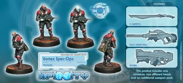 Infinity (#370) Nomads: Vortex Spec-Ops