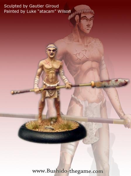 Bushido Miniatures: (Savage Wave) Oni Human Slave
