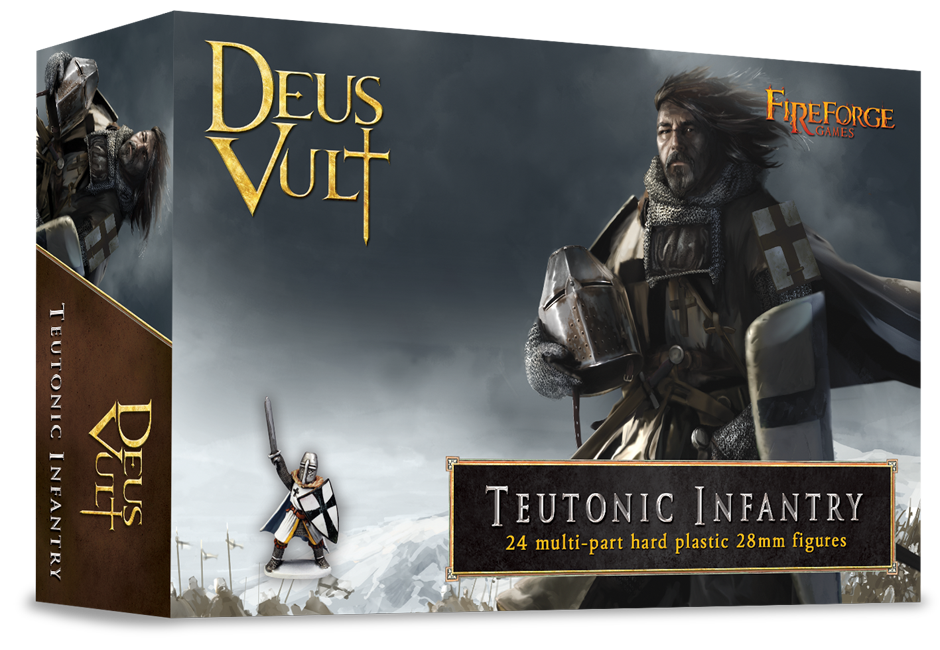 28mm Deus Vult: Teutonic Infantry (24)