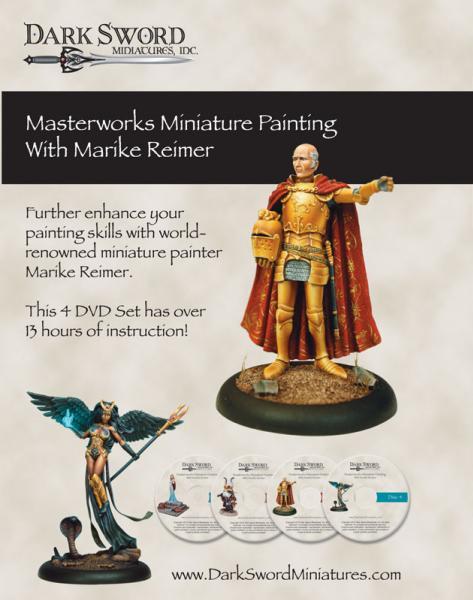 Painting DVDs: Marike Reimer Masterworks Miniature