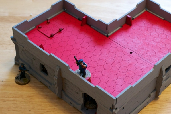 Sci-Fi Terrain: District 5 Apartment Roofs (2)