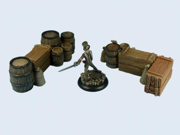 Fantasy Terrain: Ware Piles #1 (2)