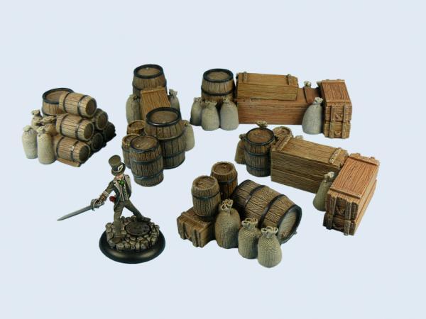 Fantasy Terrain: Ware Piles Boxed Set (5)