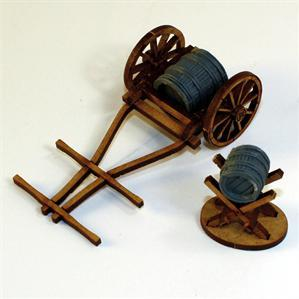 28mm Terrain:  Water Cart & Jack