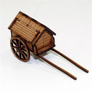 28mm Terrain: Strong Box Cart