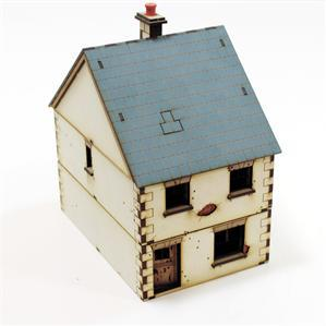 28mm World at War Terrain: Pre-painted Dettached House type 1