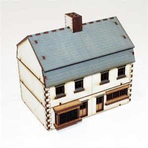 15mm European Buildings: Pre-Painted Shop