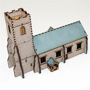 15mm European Buildings: Pre-Painted Parish Church
