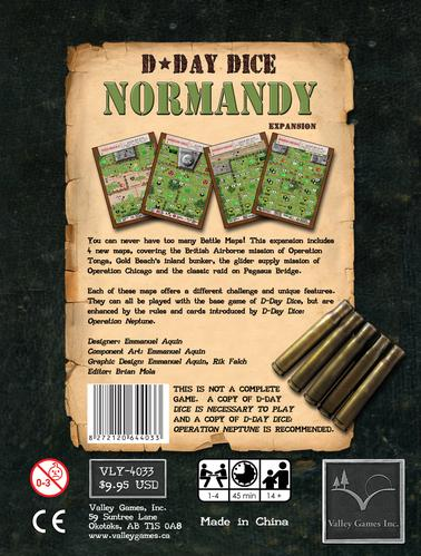 D-Day Dice Expansion: Normandy