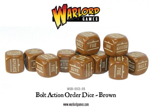 Orders Dice (Brown)