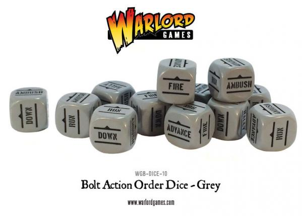 Orders Dice (Grey)