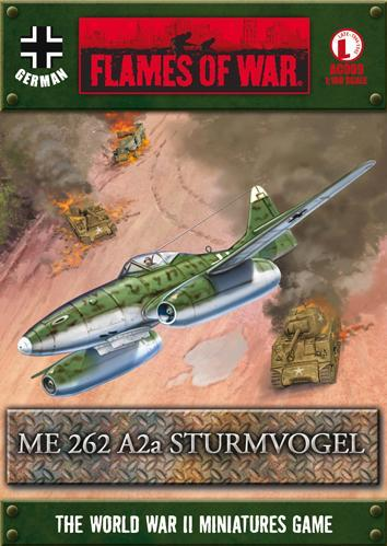 Flames Of War (WWII): (German) Me 262 A2a Sturmvogel