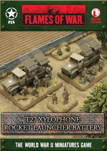 Flames of War: T27 Xylophone Rocket Launcher Battery