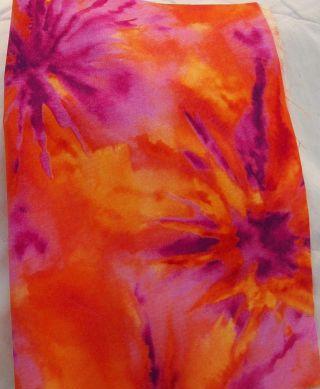 Orange Splash Cotton Dice Bag (5'' X 7'')