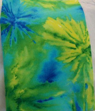 Lime Splash Cotton Dice Bag (5'' X 7'')