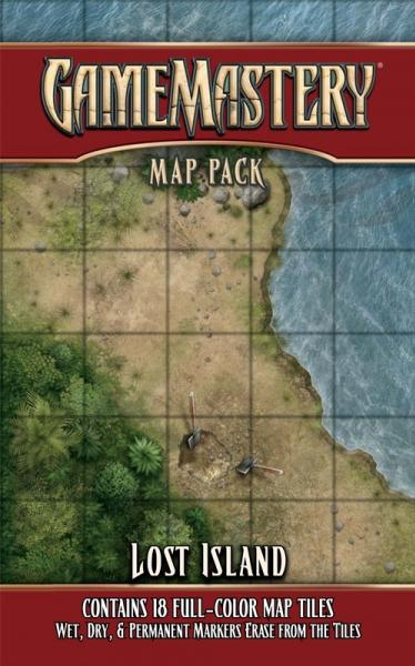 GameMastery Map Pack: Lost Island