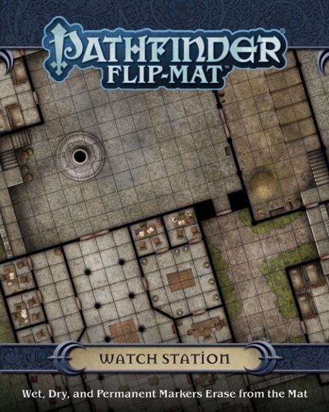 Pathfinder Flip-Mat: Watch Station