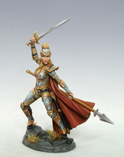 Visions In Fantasy: Female Elven Fighter