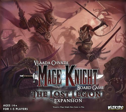 Mage Knight Expansion: The Lost Legion