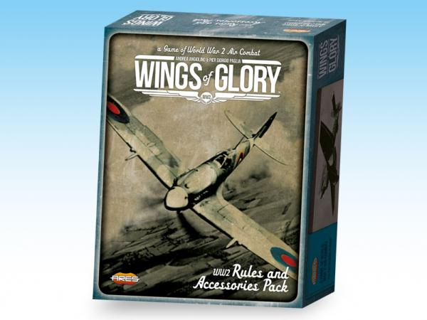 Wings Of Glory (WWII): Rules & Accessories Pack (World War II)