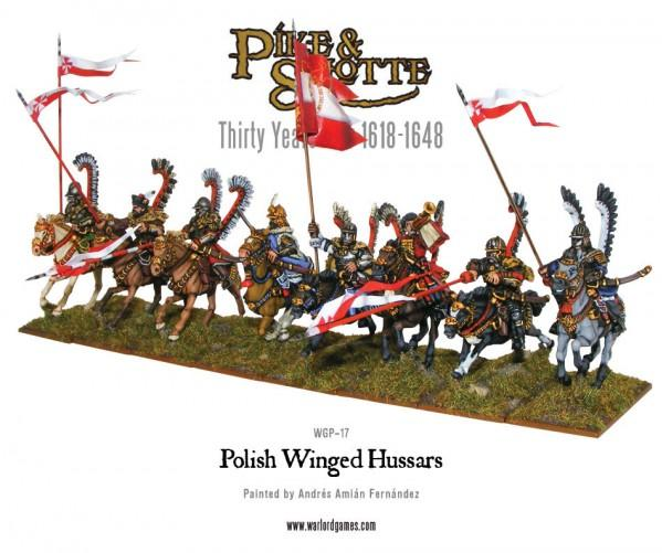 28mm Pike & Shotte: Polish Winged Hussars