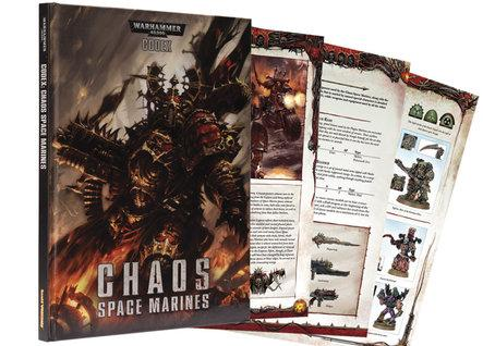 Warhammer 40K: Chaos Space Marine Codex (HC)