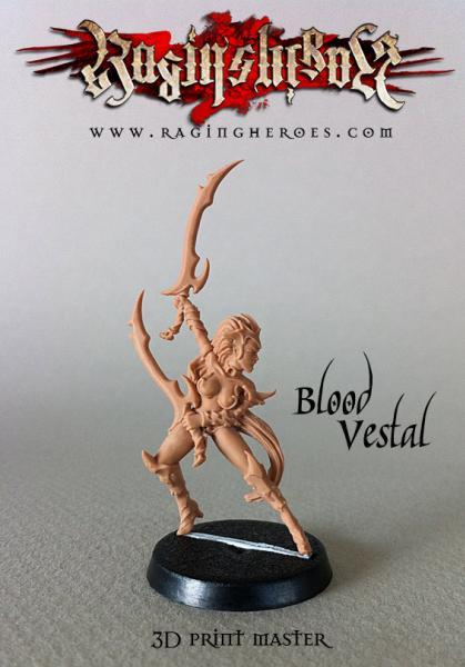 Raging Heroes: Blood Vestals (Troops)