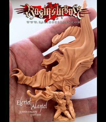 Raging Heroes: Eleriel & Alaniel 28mm - Standard Bearers