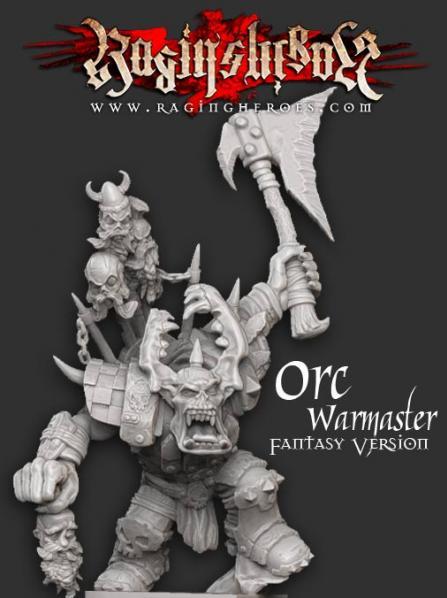 Raging Heroes: Gormakk, ORC Warmaster