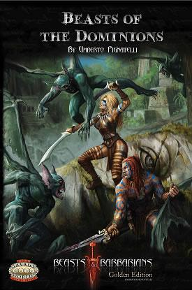 Savage Worlds RPG:  Beasts of the Dominions