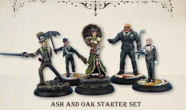 Wolsung Steampunk Game: Ash and Oak Social Club Starter (5)