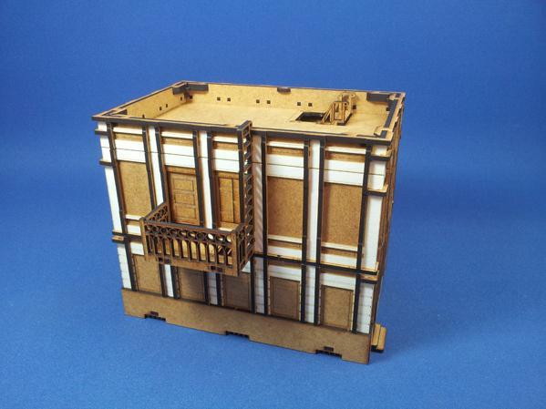 Wolsung Steampunk Game: XIX Century Block of Flats (1)
