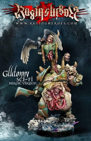 Raging Heroes: Sci-Fi Gluttony - Heroic-size