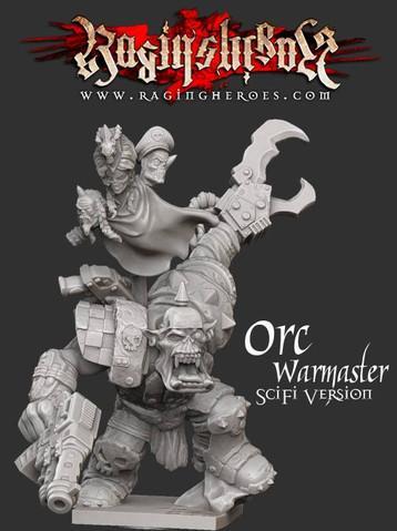 Raging Heroes: Gormakk, ORC Warmaster - Science-Fiction