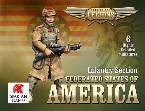 (Federated States Of America) Infantry Section